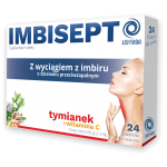 IMBISEPT TABLETKI DO SSANIA 20TBL – AJDO PHARMA