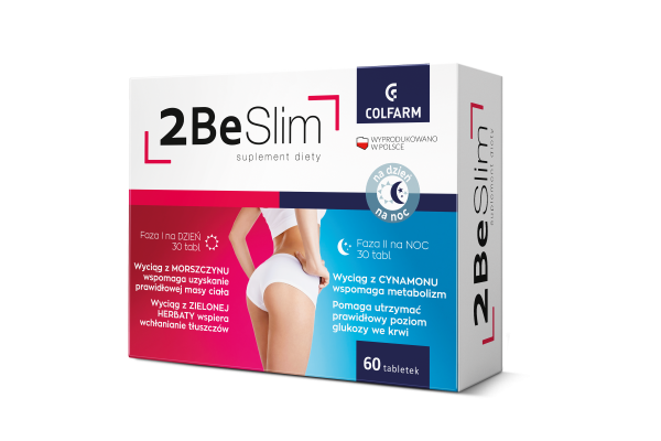2 BE SLIM 60 TABLETEK – COLFARM