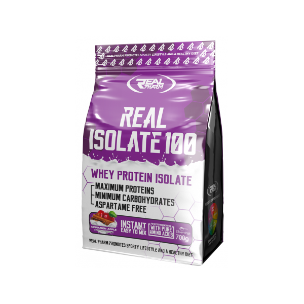 REAL ISOLATE CHOCOLATE 700G – REAL PHARM