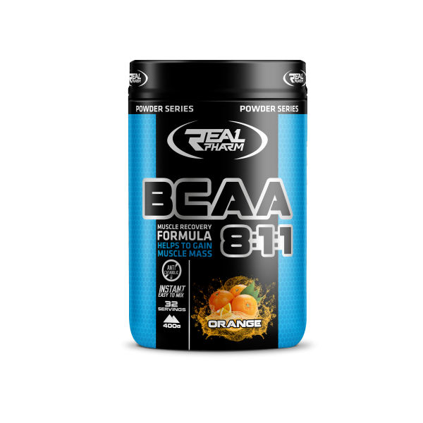 BCAA 400G /ORANGE/ – REAL PHARM