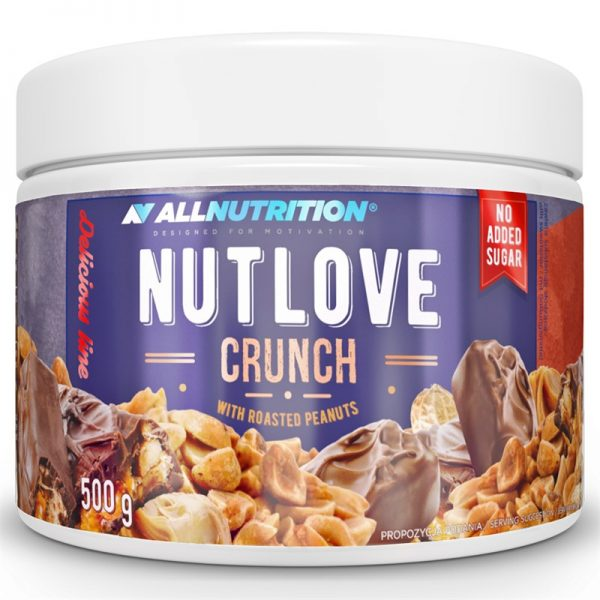 NUTLOVE CRUNCH 500G – ALLNUTRITION