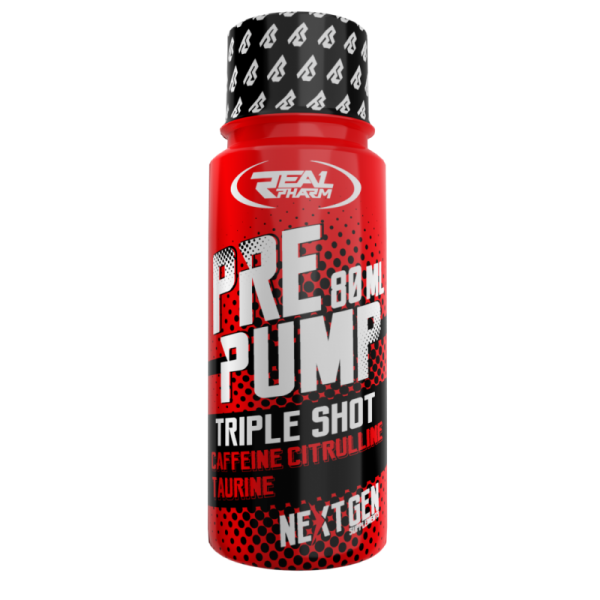 PRE PUMP SHOT / PRZEDTRENINGÓWKA 80ML – REAL FARM